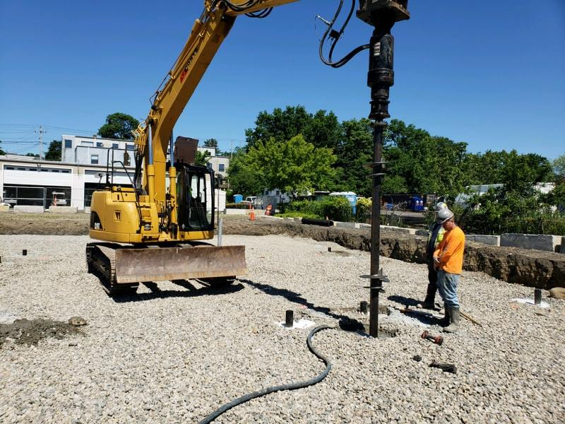 New Rowing Club a Model for Advanced Pile Foundation Technology